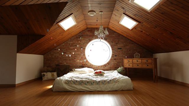 podkrovní pokoj pro starší děti