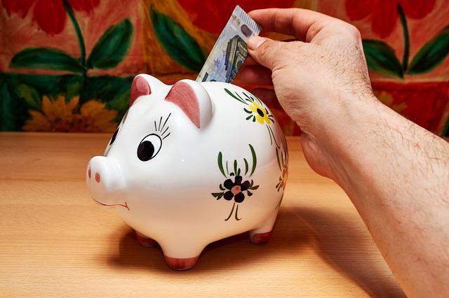 úspory a prasátko