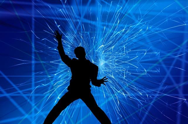 silueta tanečníka
