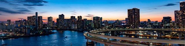 duhový most tokio