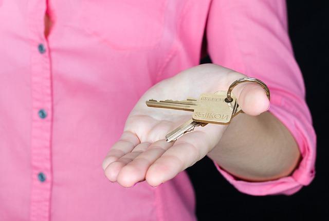 klíč od domu
